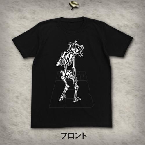 骸骨ロゴ Tシャツ